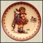 School Girl, M. I. Hummel Mini Annual Plate