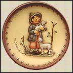 Shepherd's Boy, M. I. Hummel Mini Annual Plate