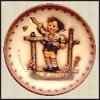 Come Back Soon, M. I. Hummel Mini Annual Plate