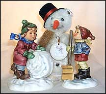 Frosty Friends Collector Set, M. I. Hummel Figurine