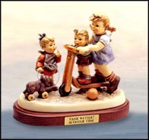 Scooter Time, M. I. Hummel Figurine