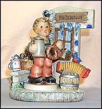 Pretzel Boy Collector Set, M. I. Hummel Figurine