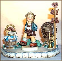 Alpine Dancer Collector Set, M. I. Hummel Figurine