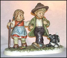 Strolling With Friends, M. I. Hummel Figurine MAIN