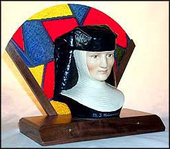Sister Berta Hummel - With Wooden Base, M. I. Hummel Bust