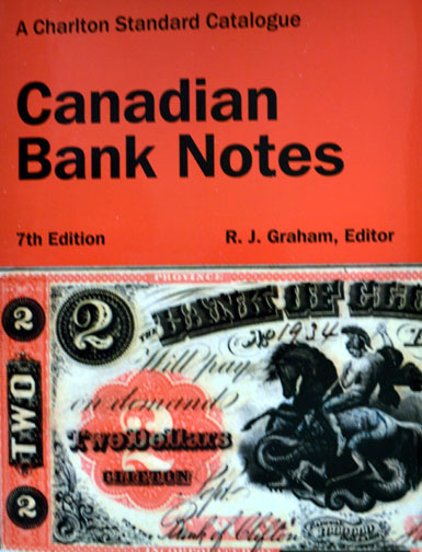 Canadian Bank Notes 7th ed