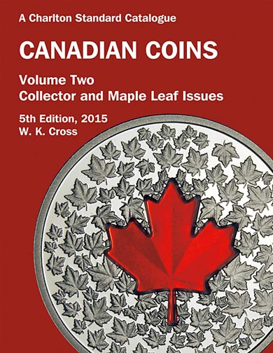 Charlton Catalogue of Canadian Coins Vol 2 Collector Issue 5th Ed