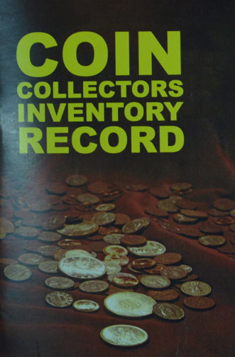 Coin Collector's Inventory Record