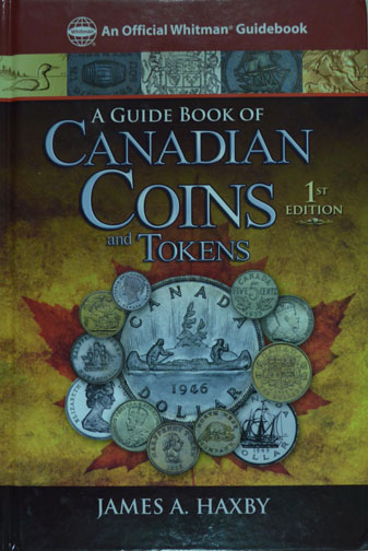 Guidebook Canadian Coins & Tokens by Haxby