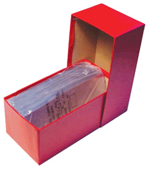 Box for Large Size Currency, 8.25x4x3.62