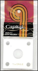 Capital Plastics #144 1/10 Gold Eagle, White