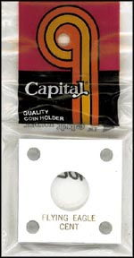 Capital Plastics #144 Flying Eagle Cent, White