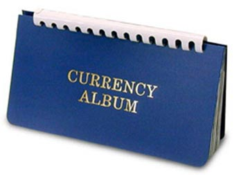 H.E. Harris Currency Album, Modern