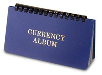 H.E. Harris Currency Album, Large