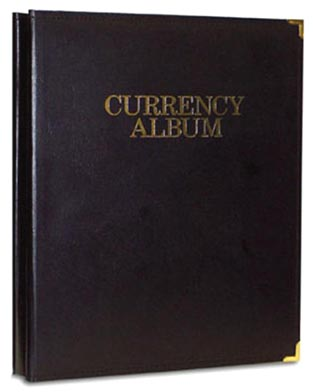 Whitman Deluxe Currency Album, Small Size Notes