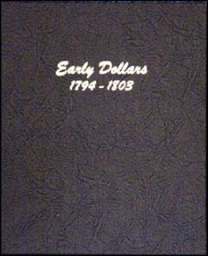 Dansco Coin Album - Early Dollars 1794-1803