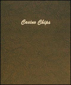 Dansco Coin Album - Casino Chips 12 - 2x2 vinyl