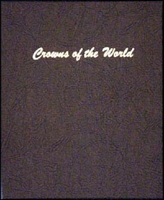 Dansco Coin Album - Crowns of the World, Various sizes