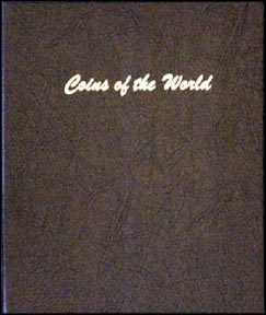 Dansco Coin Album - Coins of the World 10c to 50c sizes