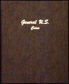 Dansco Coin Album - General U. S. Coins, Plain