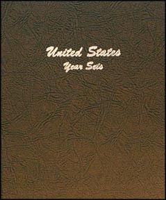 Dansco Coin Album - U. S. Year Sets