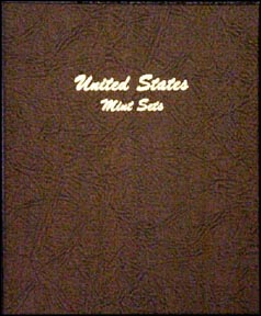 Dansco Coin Album - U. S. Mint Sets (Mint Sealed)