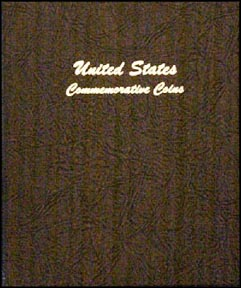 Dansco Coin Album - U. S. Commemorative Type 1893-1954