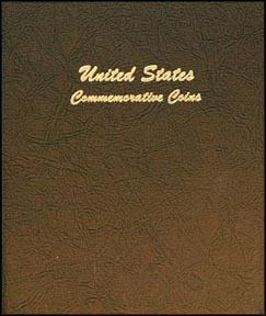 Dansco Coin Album - U. S. Commemoratives 1893-1954 2 Vol