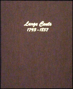 Dansco Coin Album - Large Cents 1793-1857