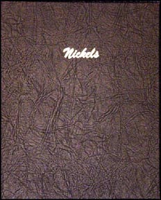 Dansco Coin Album - Nickels, Plain, 140 Openings