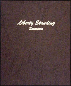 Dansco Coin Album - Standing Liberty Quarters 1916-1930