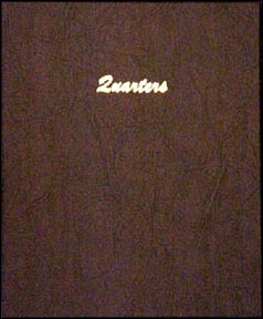 Dansco Coin Album - Quarters, Plain, 96 Openings