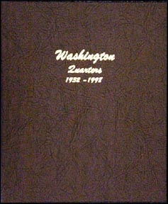 Dansco Coin Album - Washington Quarters 1932-Date