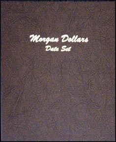Dansco Coin Album - Morgan Dollars Date Set 1878-1921