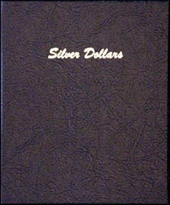 Dansco Coin Album - Dollars, Plain, 48 Openings