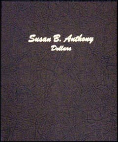 Dansco Coin Album - Susan B Anthony Dollars 1979-1999