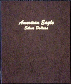 Dansco Coin Album - Silver Eagles 1986-Date