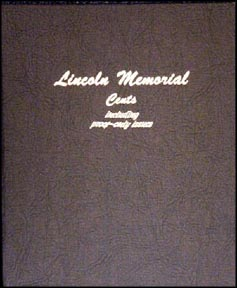 Dansco Coin Album - Lincoln Memorials 1959-Date with proof issues