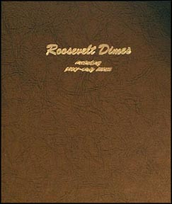 Dansco Coin Album - Roosevelt Dimes 1946-Date with proof issues