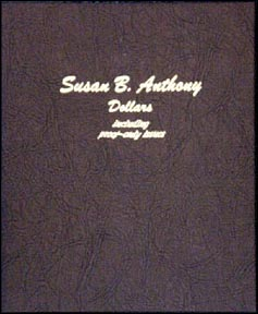 Dansco Coin Album - Susan B. Anthony Dollars 1979-1999 with proof issues