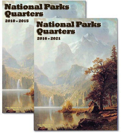Edgar Marcus & Co Coin Folder - National Parks Quarters Vol 2, 2016-2021
