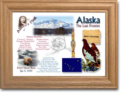 Edgar Marcus & Co Coin Frame - Alaska