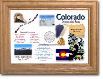Edgar Marcus & Co Coin Frame - Colorado