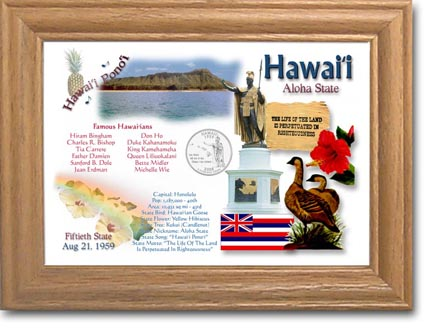 Edgar Marcus & Co Coin Frame - Hawai'i