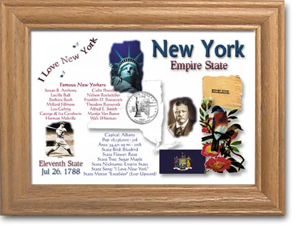 Edgar Marcus & Co Coin Frame - New York