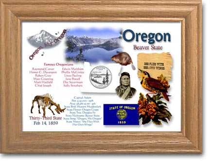 Edgar Marcus & Co Coin Frame - Oregon