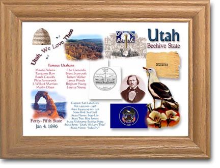 Edgar Marcus & Co Coin Frame - Utah