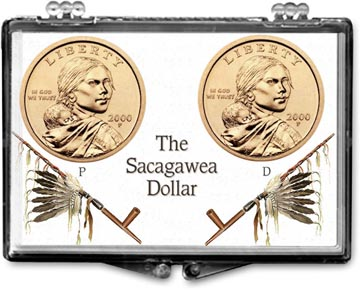 Edgar Marcus Snaplock Display - Sacagawea P&D