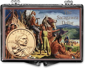 Edgar Marcus Snaplock Display - Sacagawea Painting I