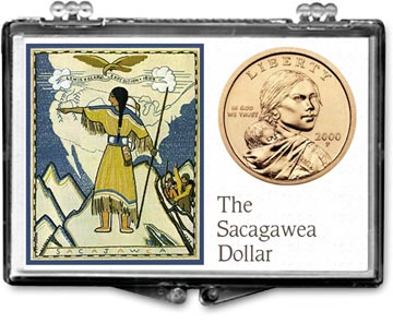 Edgar Marcus Snaplock Display - Sacagawea Tapestry